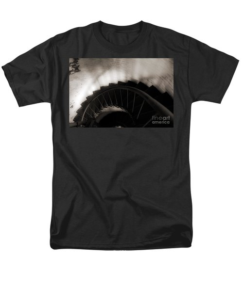 Men's T-Shirt  (Regular Fit) featuring the photograph Hatteras Staircase by Angela DeFrias