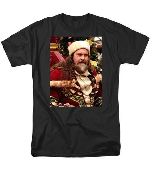 Men's T-Shirt  (Regular Fit) featuring the photograph Have You Been Naughty by Nadalyn Larsen