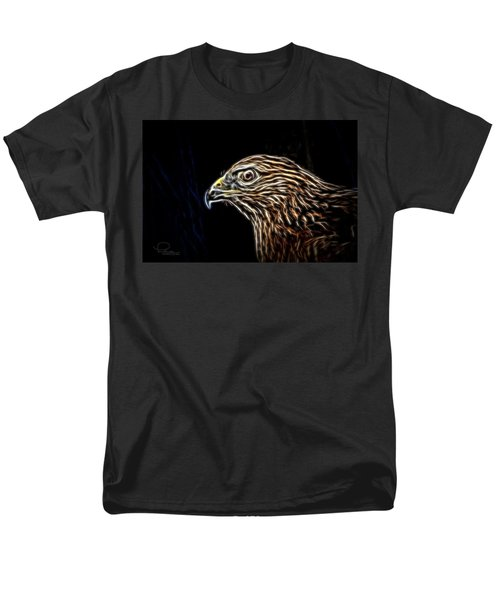 Hawk Men's T-Shirt  (Regular Fit) by Ludwig Keck