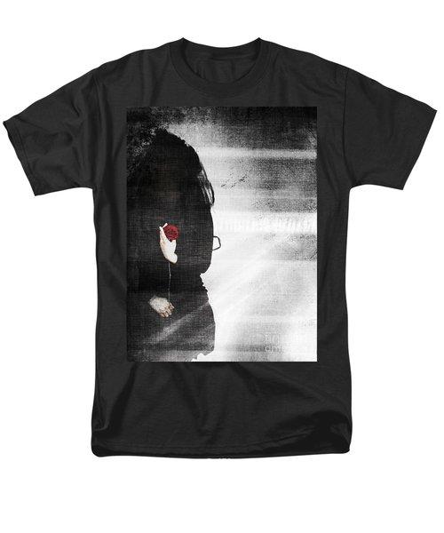 He Took My Sense Of Self Men's T-Shirt  (Regular Fit) by Jessica Shelton