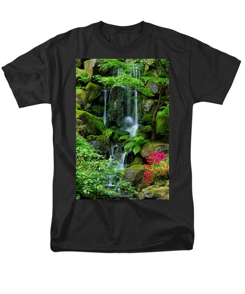 Heavenly Falls Serenity Men's T-Shirt  (Regular Fit) by Don Schwartz