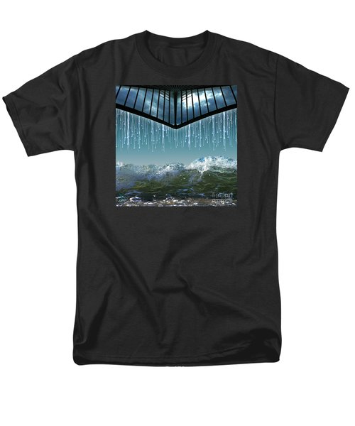 Men's T-Shirt  (Regular Fit) featuring the digital art Heavens Crying by Rosa Cobos