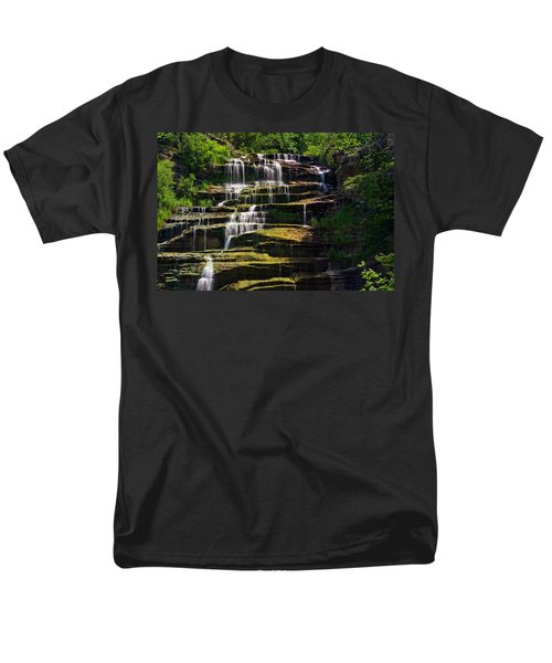 Hector Falls Men's T-Shirt  (Regular Fit) by Dave Files
