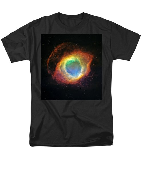 Helix Nebula 2 Men's T-Shirt  (Regular Fit) by Jennifer Rondinelli Reilly - Fine Art Photography