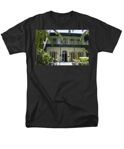 Hemingway's Hideaway Men's T-Shirt  (Regular Fit) by Laurie Perry
