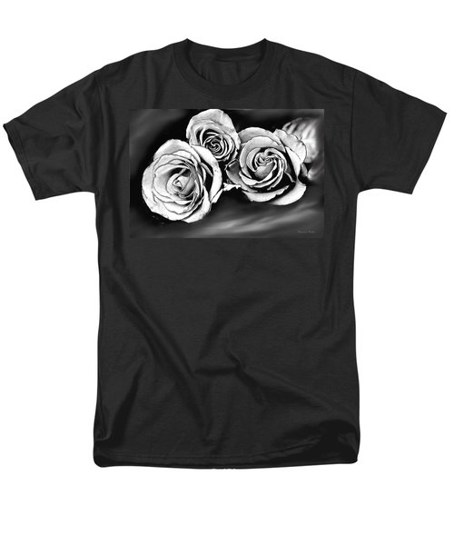 Her Roses Men's T-Shirt  (Regular Fit) by Bonnie Willis