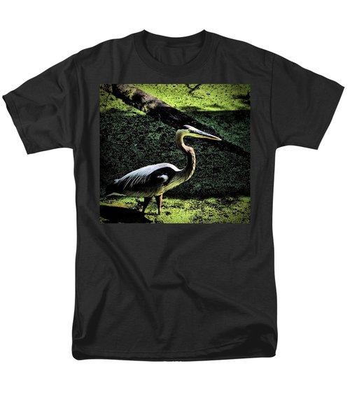 Men's T-Shirt  (Regular Fit) featuring the photograph Here Fishy Fishy by Robert McCubbin