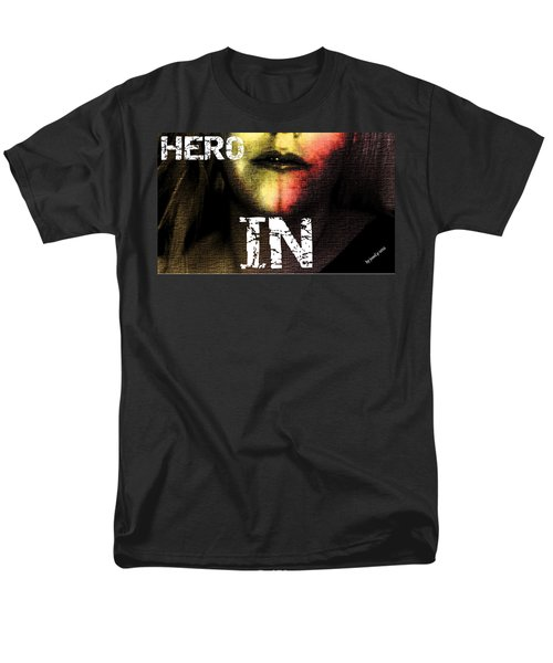 Men's T-Shirt  (Regular Fit) featuring the photograph Hero In Part One by Sir Josef - Social Critic - ART