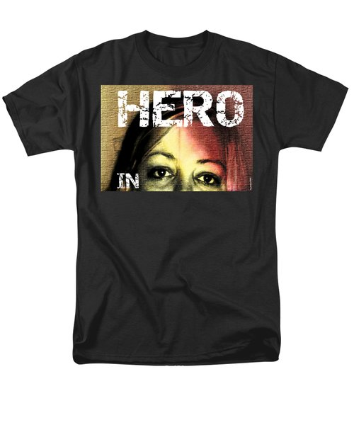 Men's T-Shirt  (Regular Fit) featuring the photograph Hero In Part Two by Sir Josef - Social Critic - ART