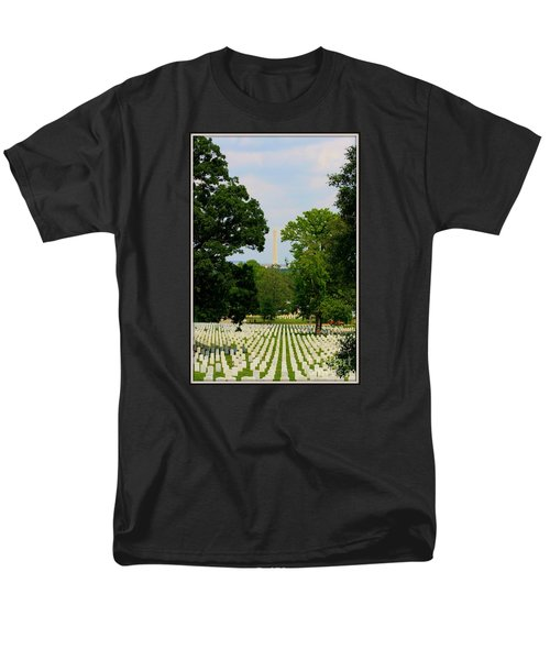 Heroes And A Monument Men's T-Shirt  (Regular Fit) by Patti Whitten