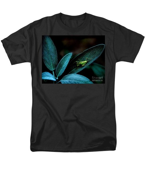 Men's T-Shirt  (Regular Fit) featuring the photograph Hey  I'm Trying To Hide by Debra Fedchin
