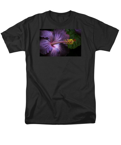 Hibiscus Bloom In Lavender Men's T-Shirt  (Regular Fit) by Julie Palencia