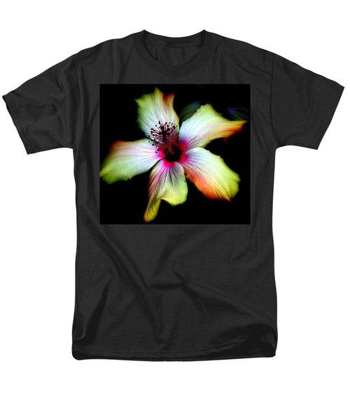 Hibiscus Men's T-Shirt  (Regular Fit) by Jodie Marie Anne Richardson Traugott          aka jm-ART