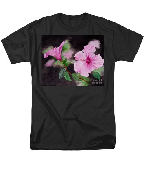 Hibiscus - So Pretty In Pink Men's T-Shirt  (Regular Fit) by Sher Nasser