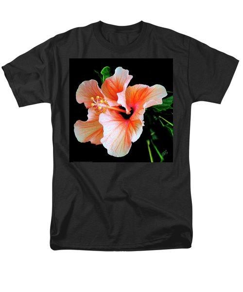 Hibiscus Spectacular Men's T-Shirt  (Regular Fit) by Ben and Raisa Gertsberg