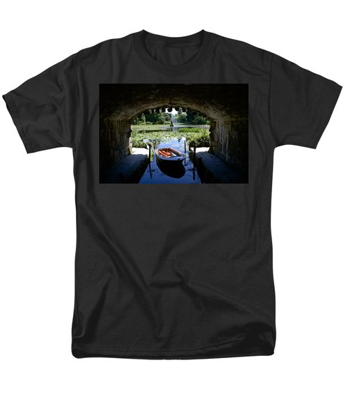 Hidden Boat Men's T-Shirt  (Regular Fit) by Charlie Brock
