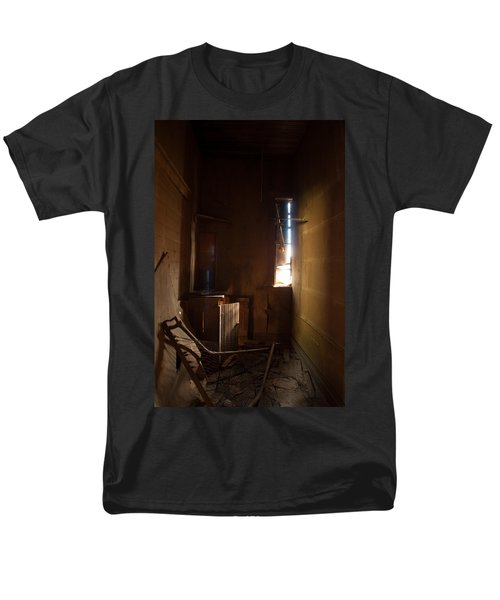Men's T-Shirt  (Regular Fit) featuring the photograph Hidden In Shadow by Fran Riley