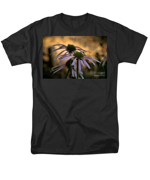Men's T-Shirt  (Regular Fit) featuring the photograph Hiding In The Shadows by Peggy Hughes