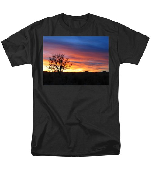 Men's T-Shirt  (Regular Fit) featuring the photograph High Desert Sunset by Kevin Desrosiers