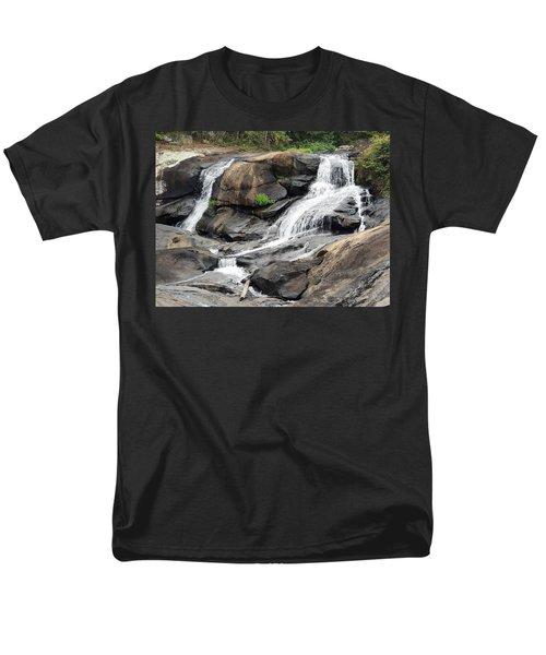 High Falls Men's T-Shirt  (Regular Fit) by Aaron Martens