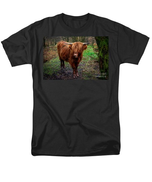 Highland Beast  Men's T-Shirt  (Regular Fit) by Adrian Evans
