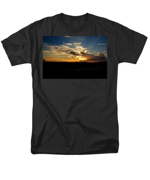 Hill Country Sunset Men's T-Shirt  (Regular Fit) by Dave Files