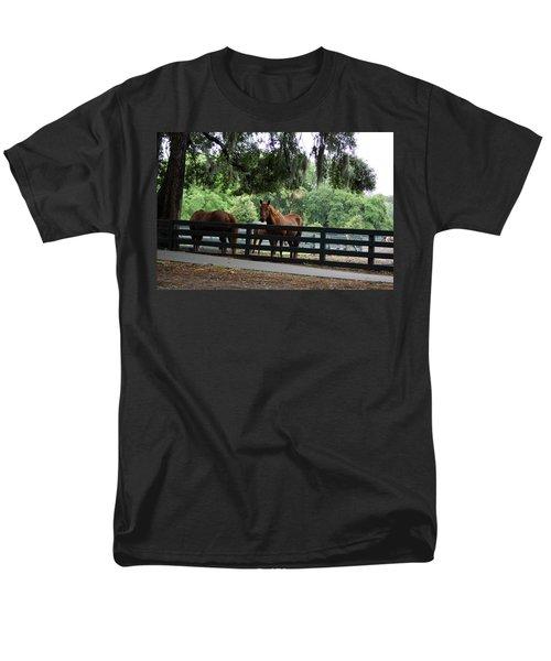 Hilton Head Island Beauty Men's T-Shirt  (Regular Fit) by Kim Pate