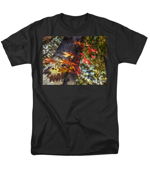 Hints Of Fall Men's T-Shirt  (Regular Fit) by Linda Unger