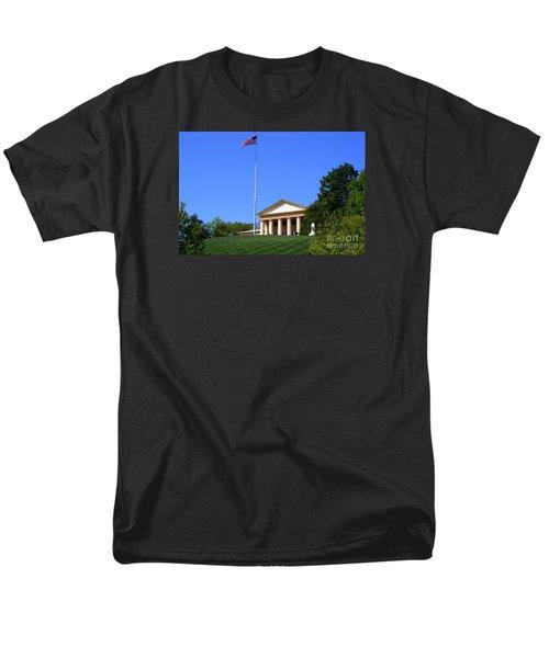 Men's T-Shirt  (Regular Fit) featuring the photograph Historic Arlington House by Patti Whitten