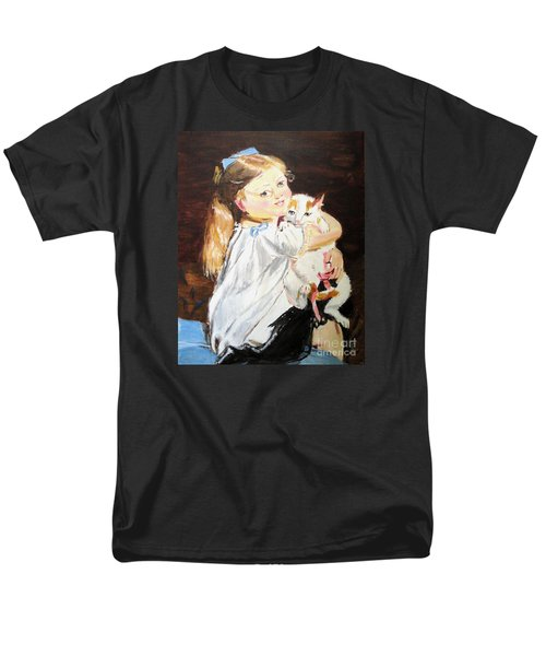 Men's T-Shirt  (Regular Fit) featuring the painting Holding On by Judy Kay