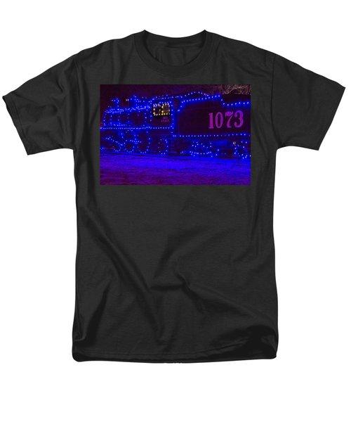 Holiday Express Train Men's T-Shirt  (Regular Fit) by Steven Bateson