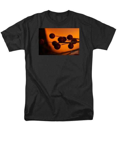 Holiday Warmth 1 Men's T-Shirt  (Regular Fit) by Linda Shafer