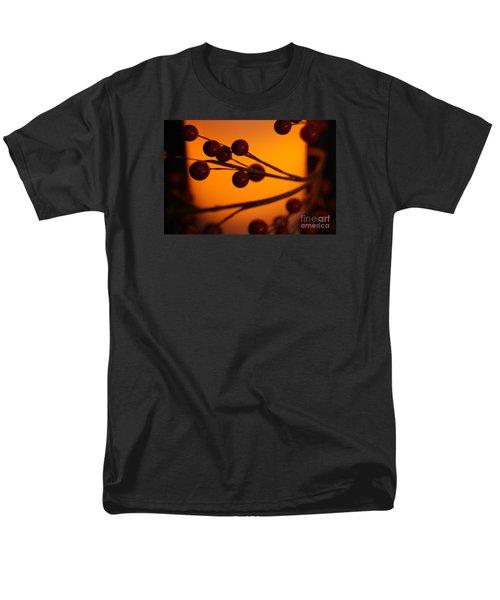 Holiday Warmth 2 Men's T-Shirt  (Regular Fit) by Linda Shafer