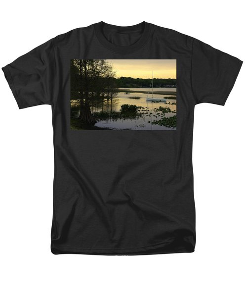 Hollingsworth Sunset Men's T-Shirt  (Regular Fit) by Laurie Perry