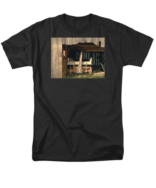 Men's T-Shirt  (Regular Fit) featuring the painting Misner's Wagon by Michael Swanson