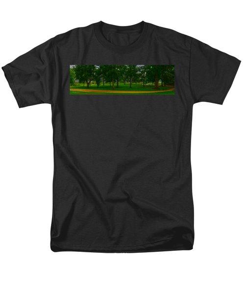 Home Circle II Men's T-Shirt  (Regular Fit) by Lanita Williams