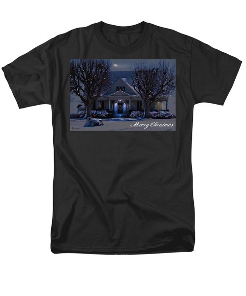 Men's T-Shirt  (Regular Fit) featuring the photograph Home For Christmas by Bonnie Willis
