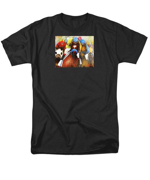 Home Stretch Men's T-Shirt  (Regular Fit) by Loretta Luglio