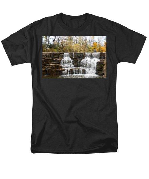 Honeoye Falls 2 Men's T-Shirt  (Regular Fit) by Aimee L Maher Photography and Art Visit ALMGallerydotcom