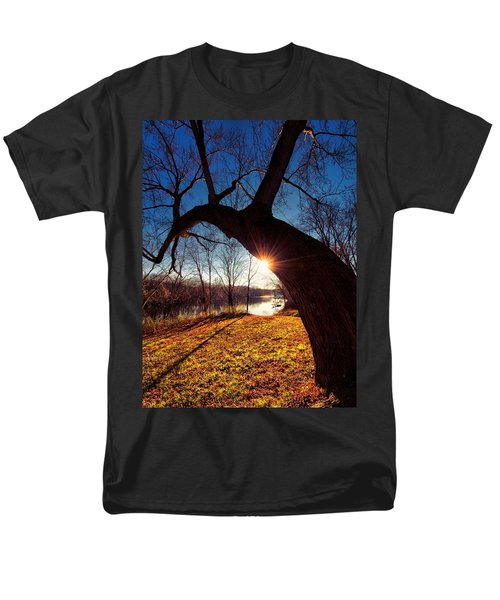 Men's T-Shirt  (Regular Fit) featuring the photograph Hook Or Crook by Robert McCubbin
