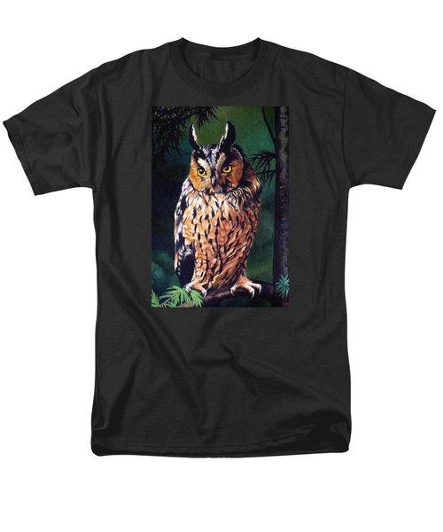 Hoot Owl Men's T-Shirt  (Regular Fit) by Vivien Rhyan