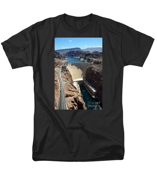 Hoover Dam Men's T-Shirt  (Regular Fit) by RicardMN Photography