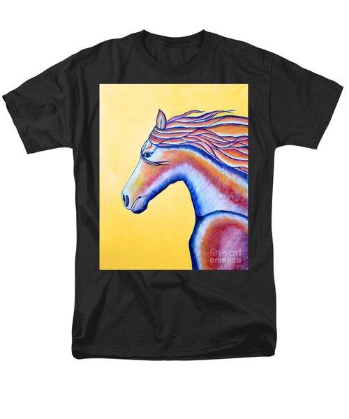 Men's T-Shirt  (Regular Fit) featuring the painting Horse 1 by Joseph J Stevens