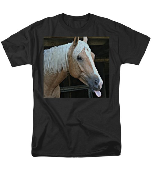 Horse Feathers Men's T-Shirt  (Regular Fit) by Barbara S Nickerson