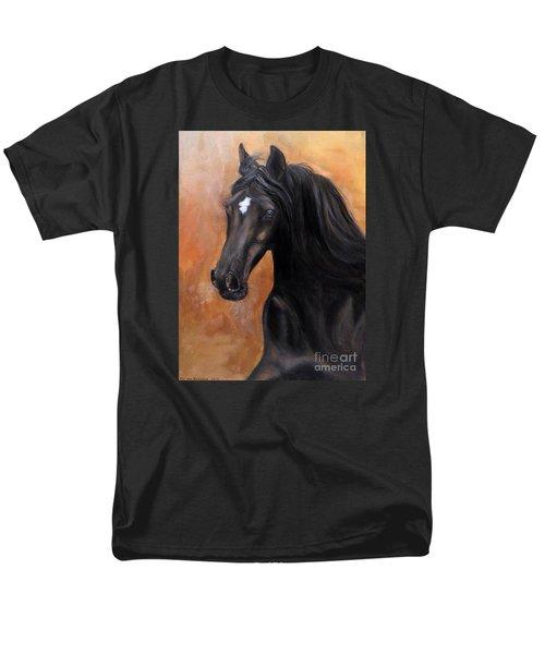 Horse - Lucky Star Men's T-Shirt  (Regular Fit) by Go Van Kampen