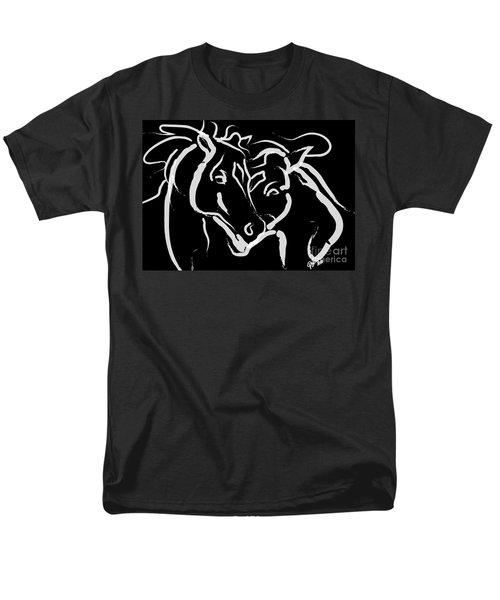 Horse- Together 5 Men's T-Shirt  (Regular Fit) by Go Van Kampen