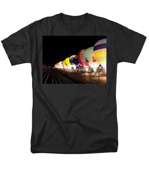 Men's T-Shirt  (Regular Fit) featuring the photograph Balloon Glow by John Swartz