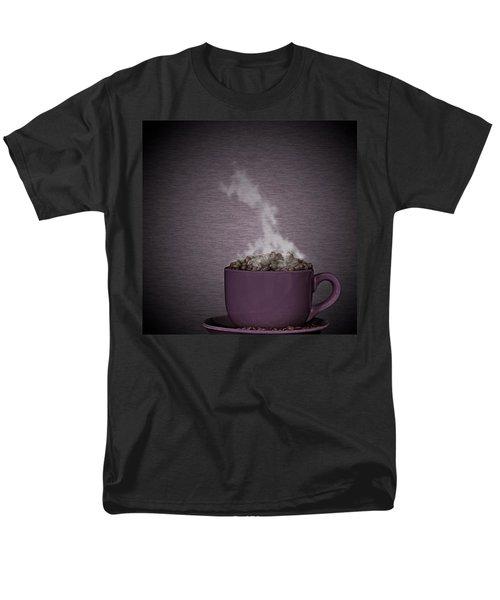 Men's T-Shirt  (Regular Fit) featuring the photograph Hot Coffee by Gert Lavsen