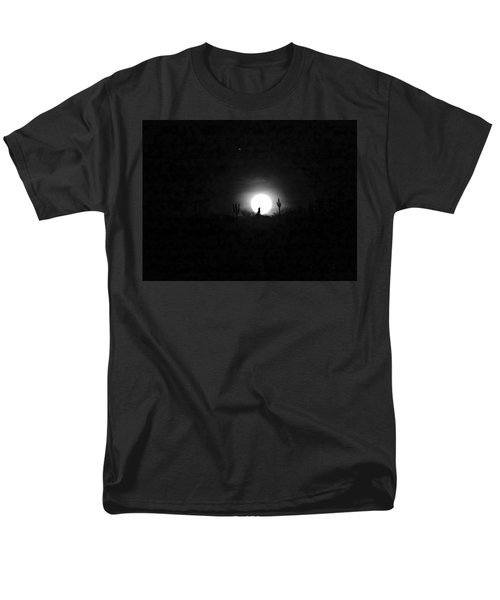 Howling At The Moon Men's T-Shirt  (Regular Fit) by Anne Mott
