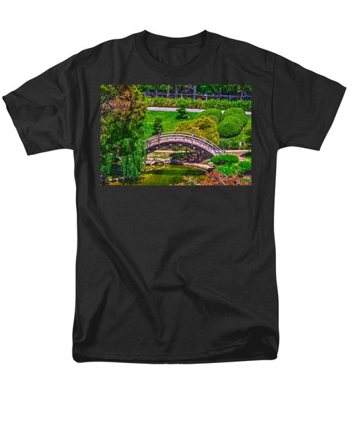 Huntington Library Ca Men's T-Shirt  (Regular Fit) by Richard J Cassato